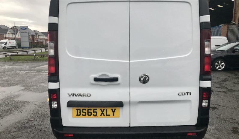 Vauxhall Vivaro 1.6 CDTi 2900 L2H1 Refrigerated Van 5dr (DS65 XLY) full