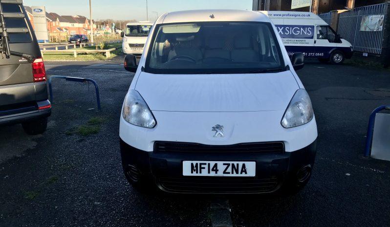 Peugeot Partner 1.6 HDi Professional L1 850 4dr (MF14 ZNA) full
